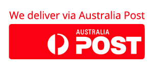 We Deliver via Australia Post
